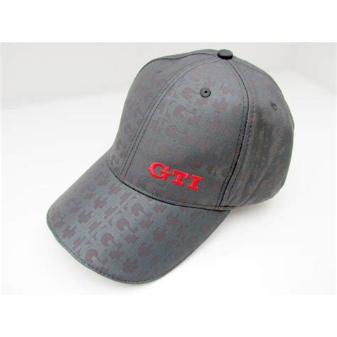vw golf gti cap polo embroidered logo original vw boutique