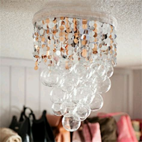 Diy Chandelier Fth Guest Room Pinterest Make Chandelier