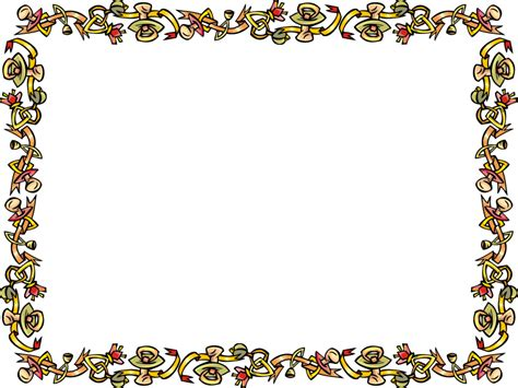 home design border design for certificate clipart best