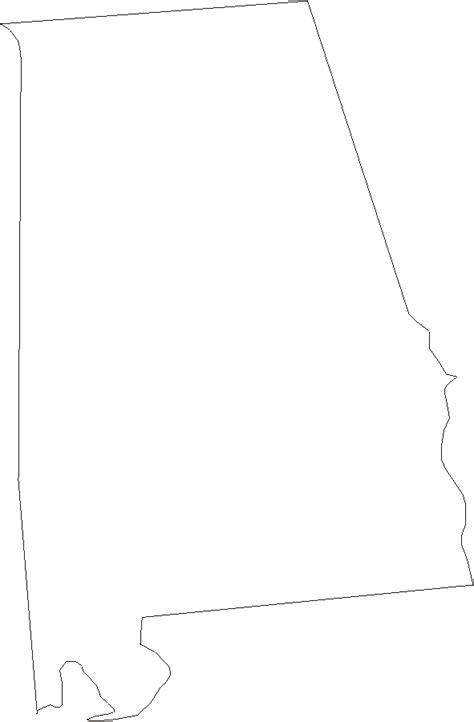 alabama map outline alabama outline images