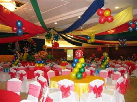 table decoration ideas for birthday party birthday round table decoration image inspiration of