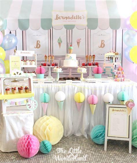 Ice Cream Birthday Party Ideas | kara s party ideas parlor ice cream birthday party kara