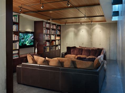 in track lighting bedroom contemporary with beamed