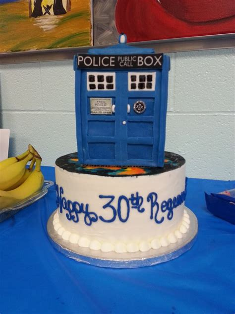wichita cake creations doctor who tardis cake