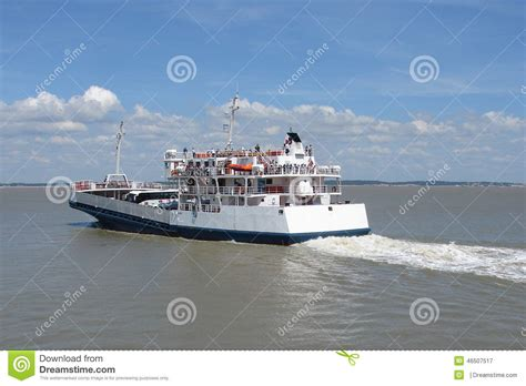 ferry boat in french french ferry boat stock image image of french coast
