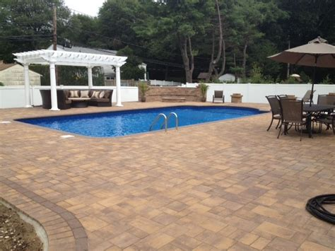 Island Pool And Patio by Island Pool Patio Traditional Patio New York