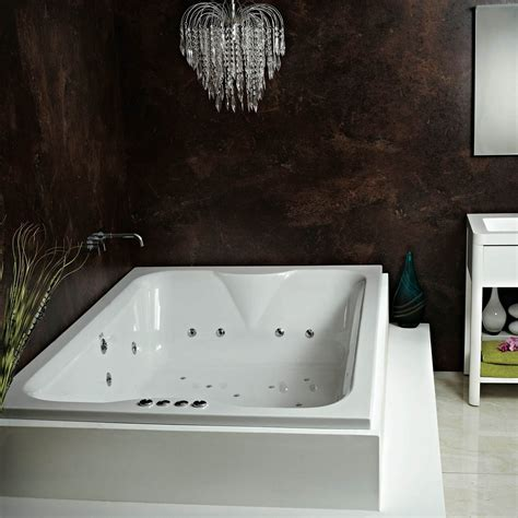 Phoenix Marino Inset Double Whirlpool & Airspa Bath With
