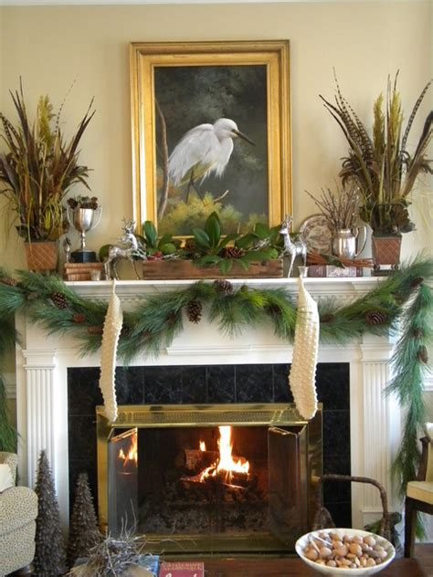 living room mantle a woodland mantel http threepixielane blogspot com