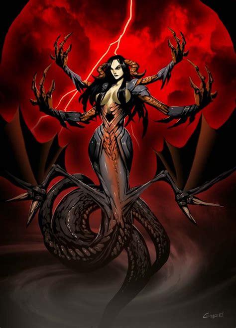 tag mythologie ekhidna of monsters by genzoman on deviantart