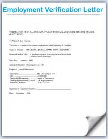 Employment Verification Letter Template Doc doc 728943 landlord verification form employment