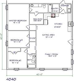 home design 40x40 tri county builders pictures and plans tri county builders
