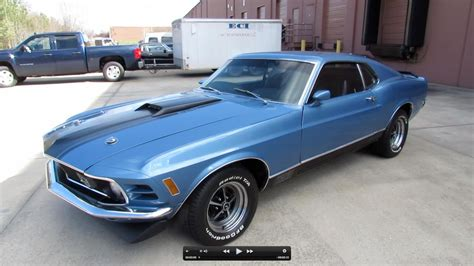 70 model mustang 1970 ford mustang mach i fastback 351c start up exhaust
