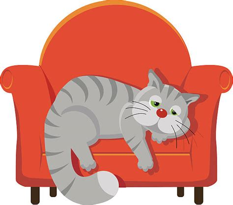 cat on chair drawing chair clipart cat pencil and in color chair clipart cat