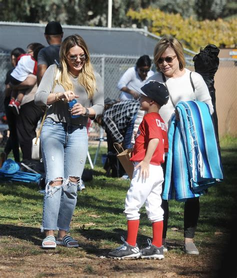At Sons League by Hilary Duff Attends Sons League With Mike