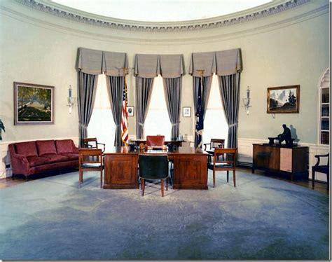 oval office through the years cote de the oval office before after