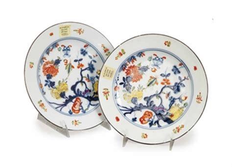 german porcelain astmuster plates blue crossed