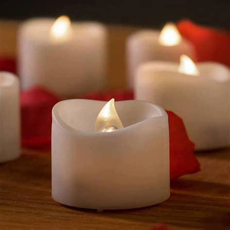 Battery Candles by Light Up Your Big Day With Battery Operated Candles In A