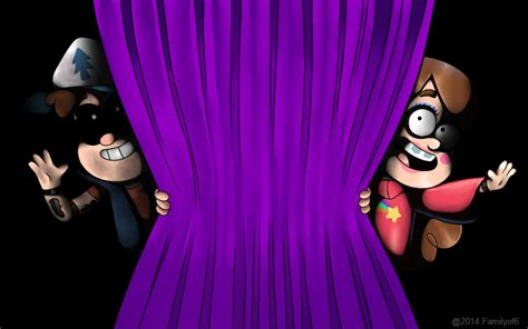 Deer Curtains Animatronic Dipper And Mabel By Familyof6 On Deviantart