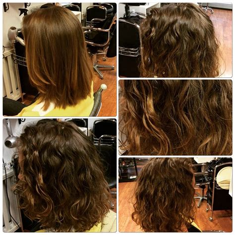 permanent waves hair styles permanentti laineet ja kiharat permanent waves and curls
