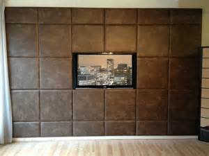 Faux Finish Walls acoustic padded wall panels feature wall custom size