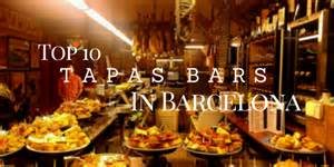 top 10 tapas bars in barcelona going awesome places