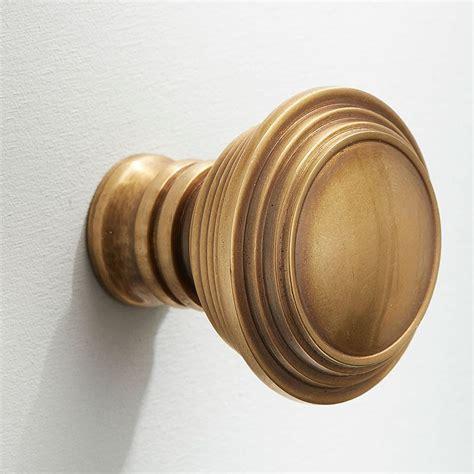 Satin Brass Door Knobs by 1 1 2 Quot Cupboard Door Knob Antique Satin Brass Broughtons