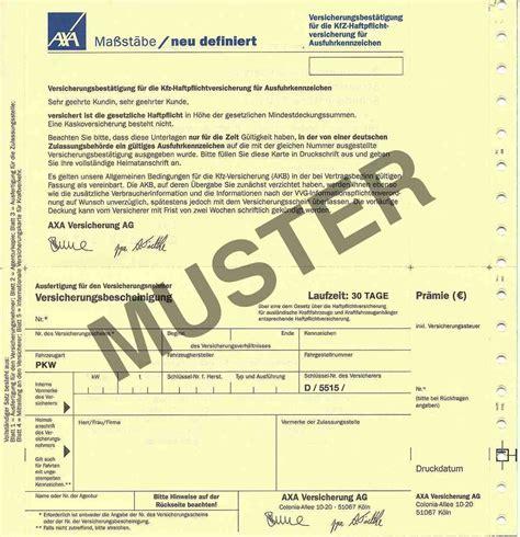 Motorrad Kaufen Anmelden Versichern by Ausfuhrkennzeichen Versicherung Pkw 30 Tage Plus Schutzbrief