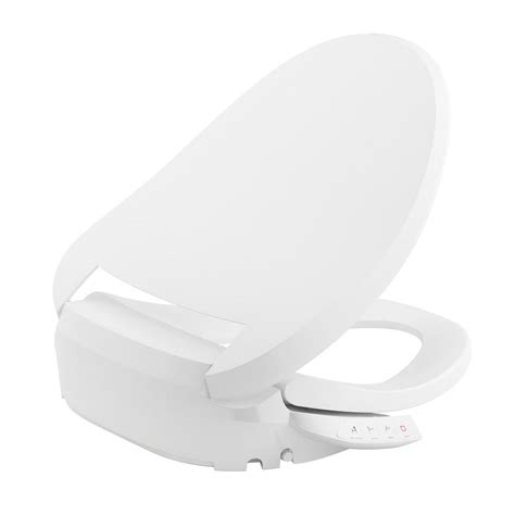 Kohler Bidet Seat kohler c3 050 electric bidet seat for elongated toilets in white k 18751 0 the home depot