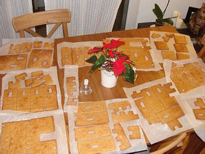 gingerbread castle template gingerbread castle template