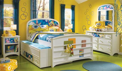 spongebob bedroom decor nickelodeon spongebob kids room