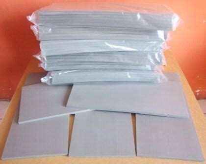 Karet Flash karet stempel warna flash ukuran 15 x 33 cm