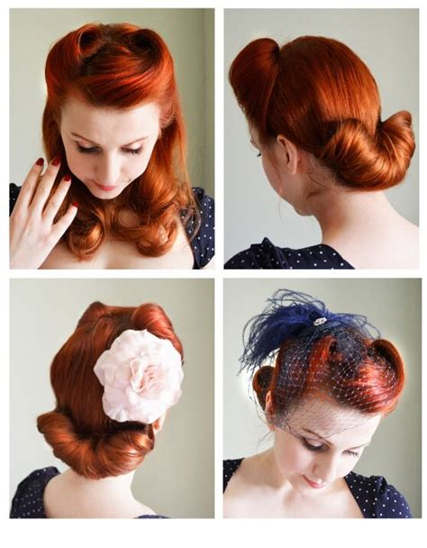 1940s hair styles for medium length hair 25 best ideas about 40s hair on pinterest vintage hair