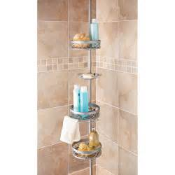 Brushed Nickel Bathtub Caddy Nickel Shower Caddy Walmart Com