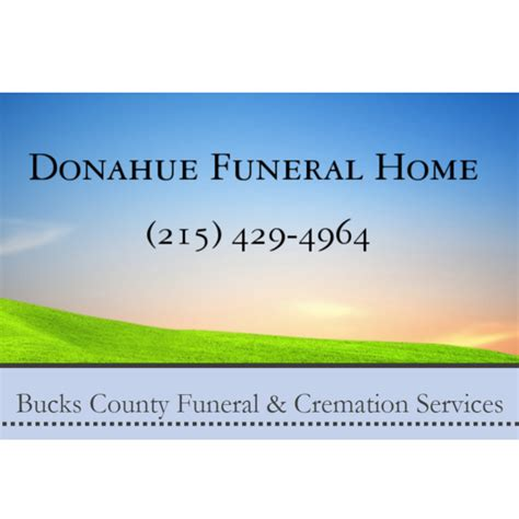 donahue funeral home coupons near me in pipersville 8coupons