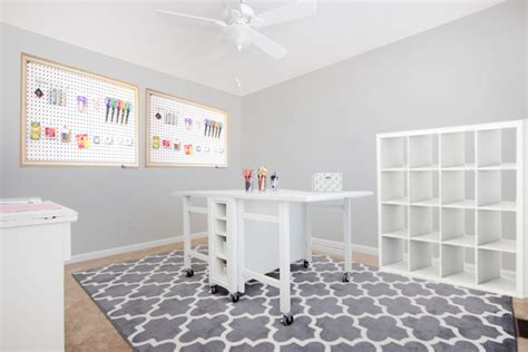 craft room layout designs and so the craft room begins how to nest for less