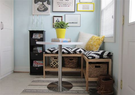 small breakfast nook table ikea 5 tips for creating a multi purpose room house
