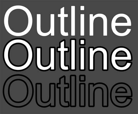 Unity 3d Outline Font by 3d Text Stroke Outline Unity Answers