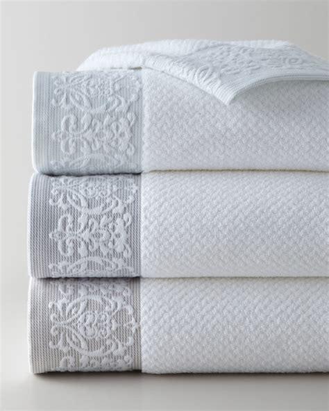 horchow bath towels kassatex valencia towels bath towels by horchow