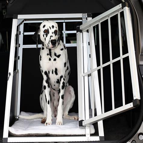 gabbia per cani auto trasportino gabbia in alluminio per cani da auto small l