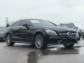 Mercedes Georgetown New 2017 Mercedes Cls Cls 550 Coupe In Georgetown