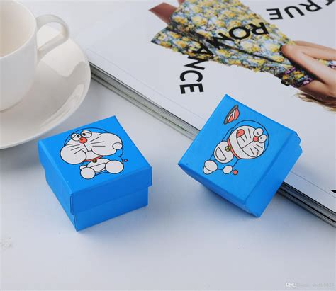 Ring Doraemon cheap doraemon necklace ring jewlery boxes fahion