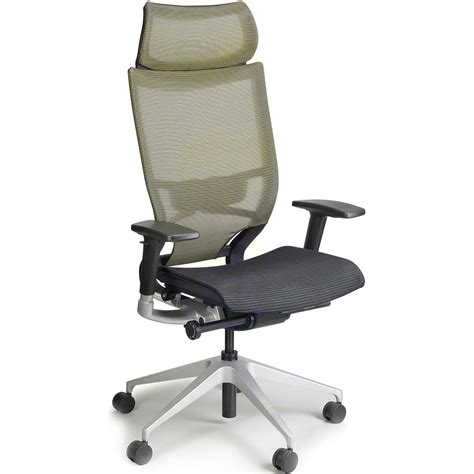 Chair Headrest raynor nuvo mesh chair with headrest shop mesh chairs