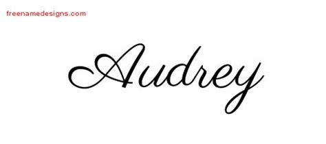 audrey archives free name designs