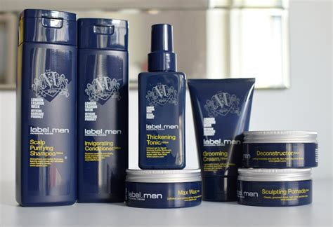 blacklabel hair products label men haircare review of new label m range for men