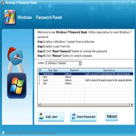 asunsoft windows password reset personal windows password resetter