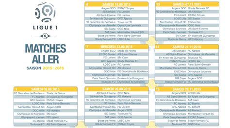 Calendrier Ligue 1 Lyon Marseille Calendrier Pdf Ligue 1 2015 2016 224 T 233 L 233 Charger