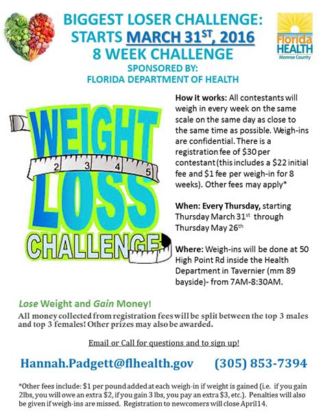 free weight loss challenge office weight loss challenge flyer weight loss diet plans