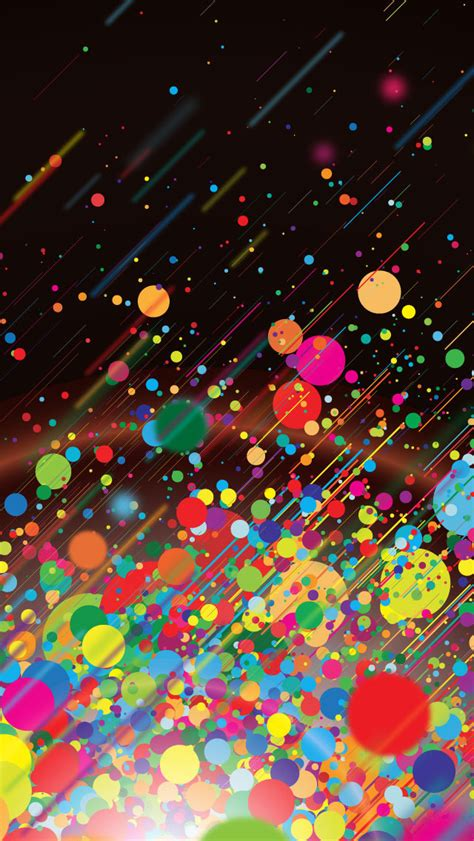 colorful wallpaper mobile colorfull abstract bubble
