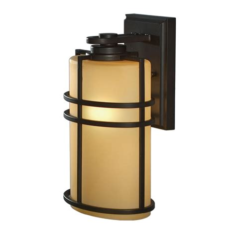 Shop Allen Roth Altabourne 12 1 4 In H Oil Rubbed Bronze Allen Roth Landscape Lighting