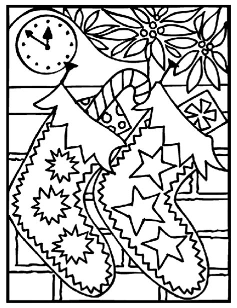 crayola coloring page ornament christmas stockings coloring page crayola com